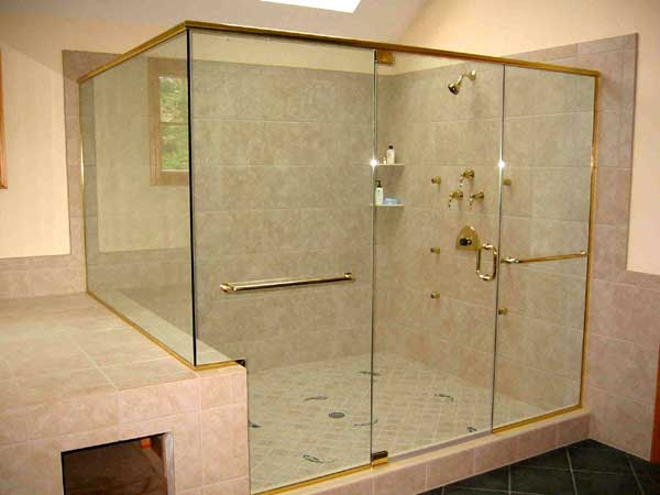 How To Remove Hard Water Stains From Shower Glass Doors